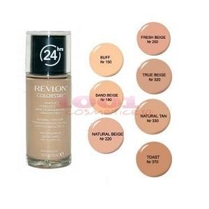 1.Fond de ten Revlon Colorstay Dry Skin