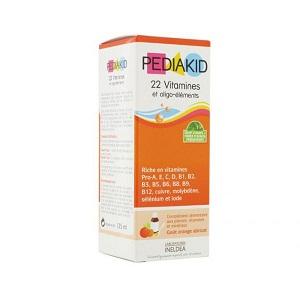 Pediakid 22 vitamines oligo-elements