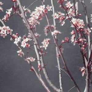 1. Fototapet floral