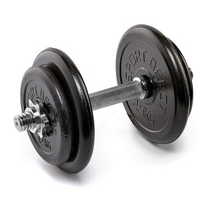 2.Gantera neagra 10kg Sporter (5)