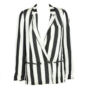 4.Sacou Zara Simette white