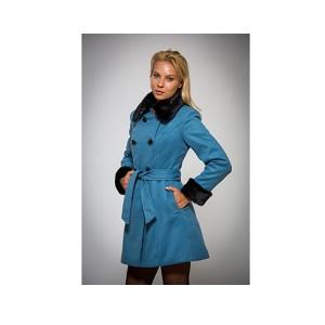 10.Palton casual dama Be you albastru-negru (4)