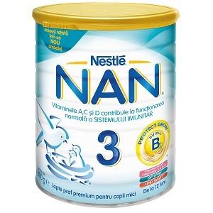 Lapte praf Nestle NAN 3