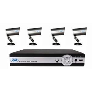 2.Kit DVR supraveghere video PNI House PTZ04