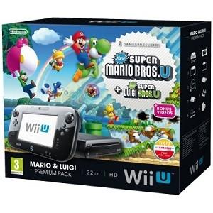 3.Consola Nintendo Wii U Premium Mario & Luigi Pack