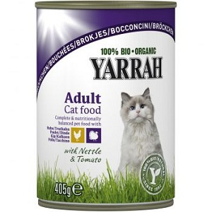 1. Yarrah Adult Cat Turkey&Chicken