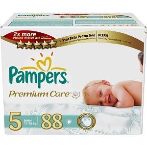 1.Pampers Premium Care 5 Mega Box