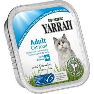 2. Yarrah Adult Cat Fisch&Spirulina