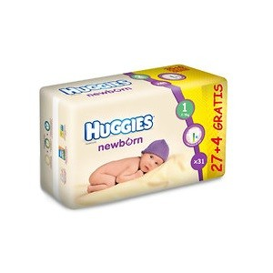 3.Huggies New Born 1