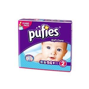4.Pufies Soft Care 2 Mini Jumbo Pack