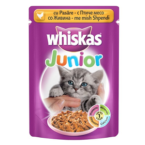 6.Whiskas Junior Pasare