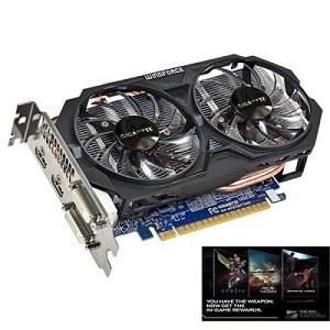 4. Gigabyte GeForce GTX 750 TI N75TOC-2GI