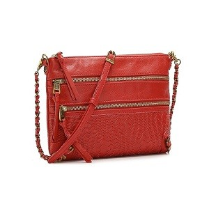 1.Elliott Lucca Bali Leather Crossbody Bag