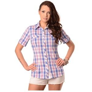 15.Maxine Plaid Sleeveless Shirt
