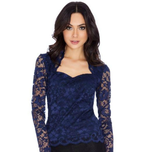 19. Maxine Blue Lace