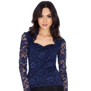 19. Maxine Blue Lace