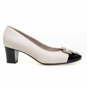 2.Ara All Leather Black Toe