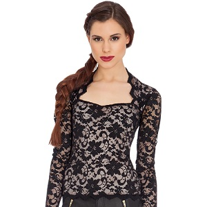 20.Maxine Lace Top