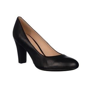 22. Geox Black Leather
