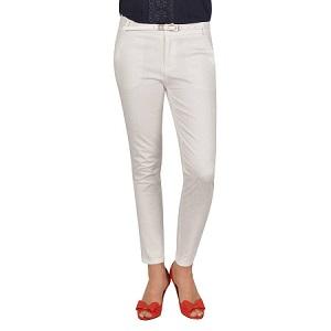 4.La Femme White Cotton
