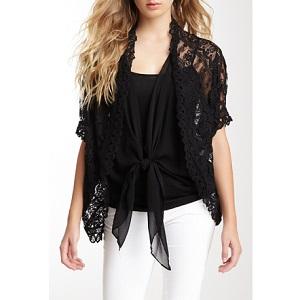 4.Miilla Lace Kimono