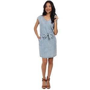5.Calvin Klein Jeans Denim Tie Waist Dress