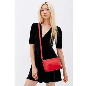 6.Forever21 Faux Leather Crossbody