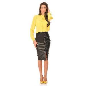 10. Lashez Faux Leather Skirt