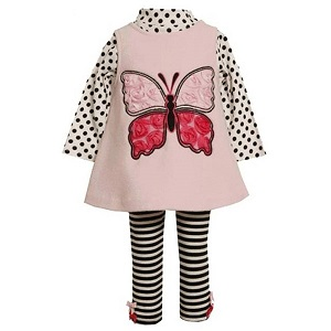 6.Bonnie Jean Baby Butterfly