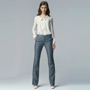 9. Maxine Leg Flare Office Pants