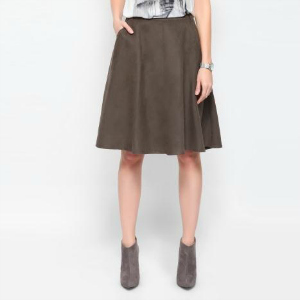 9. Top Secret Cloche Midi Skirt