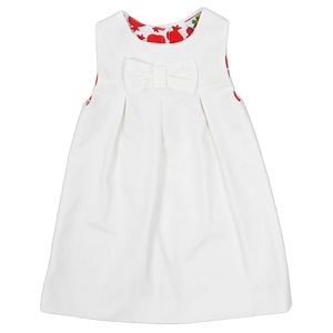 9.Danina Line White Dress