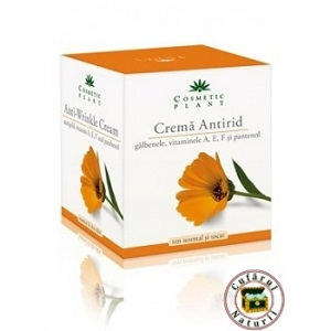 1. Crema antirid Cosmetic Plant cu extract de galbenele