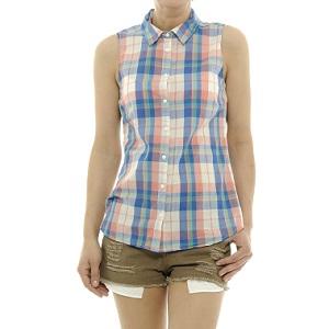 2.Kenvelo Plaid Sleeveless Shirt