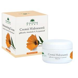 3. Crema hidratanta Cosmetic Plant cu extract de galbenele