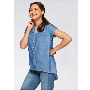6.John Baner Jeanswear Denim Short Sleeve