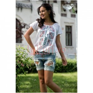 7. Ade Collection Embroidered Top