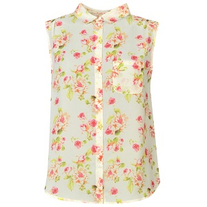 7.Golddigga Floral Short Sleeve