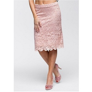 1. BodyFlirt Lace Skirt