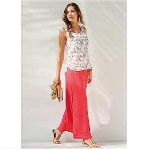 16. Rainbow Maxi Skirt