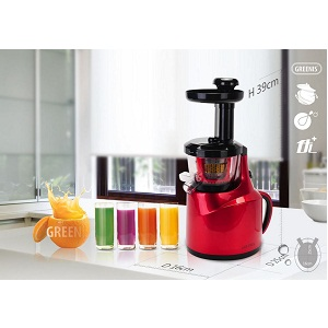 2. Greenis Slow Juicer