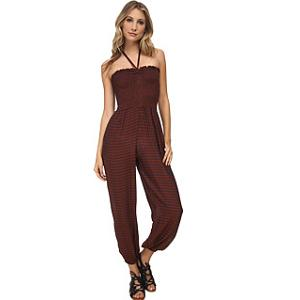 3.Free People Striped Rayon Romper