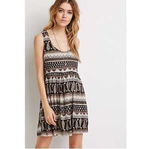 4.Forever 21 Paisley Print Babydoll