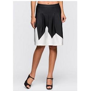 7. BodyFlirt Contrast Skirt
