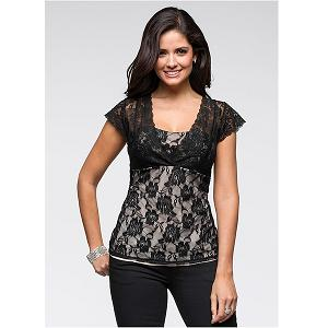 7. BodyFlirt Elegant Top