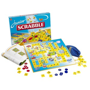 7. Mattel Scrabble junior