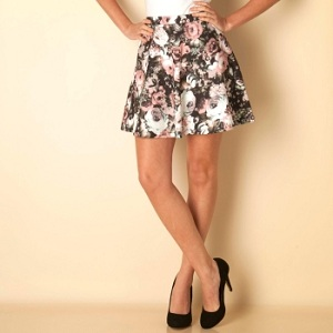8. Only Floral Print Mini