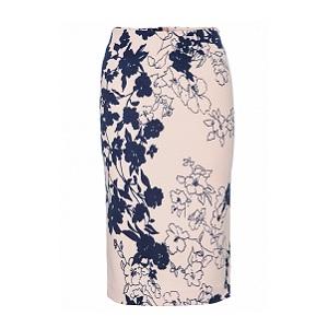 8. Top Secret Printed Pencil Skirt