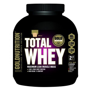 2.Goldnutrition Total Whey Vanilie