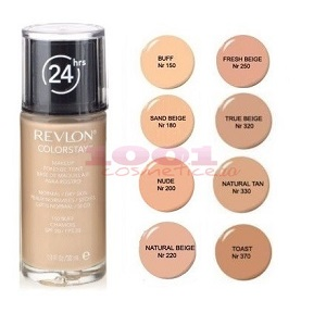 3.Revlon Colorstay Natural-Dry Skin